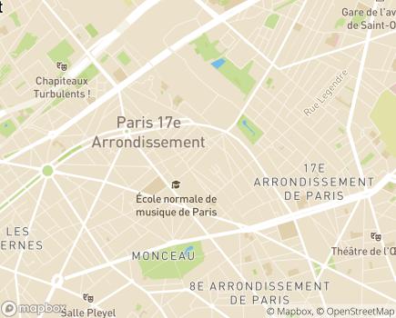 Localisation Les Amis - Service de Soins Infirmiers à Domicile - Service Polyvalent d'Aide et de Soins à Domicile - 75017 - Paris 17