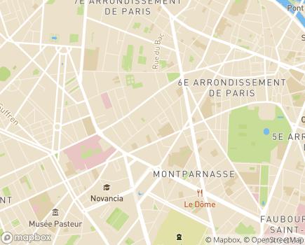 Localisation Proseniors - 75006 - Paris 06