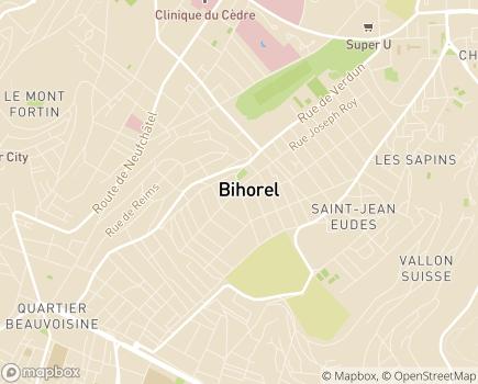 Localisation Centre Communal d'Action Sociale - 76420 - Bihorel
