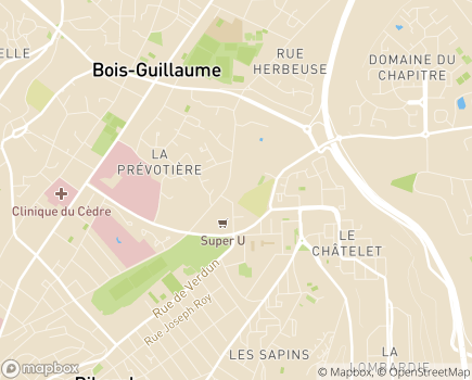 Localisation Association Rouennaise de Réadaptation de l'Enfance Déficiente - A.R.R.E.D. - 76230 - Bois-Guillaume