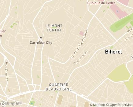 Localisation EHPAD Les Terrasses - 76230 - Bois-Guillaume