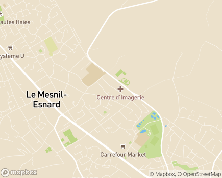 Localisation LADAPT Seine-Maritime, ESAT Les Ateliers Normands - 76240 - Le Mesnil-Esnard