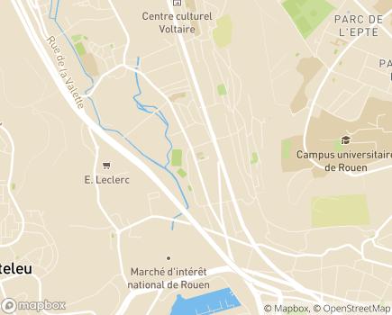 Localisation Centre d'Hébergement Gérontologique La Filandière - 76250 - Déville-lès-Rouen