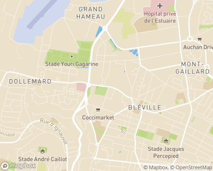 Localisation E.P.A. Helen Keller - 76072 - Le Havre