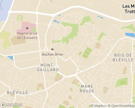 Localisation Résidence Autonomie Bretagne - 76600 - Le Havre
