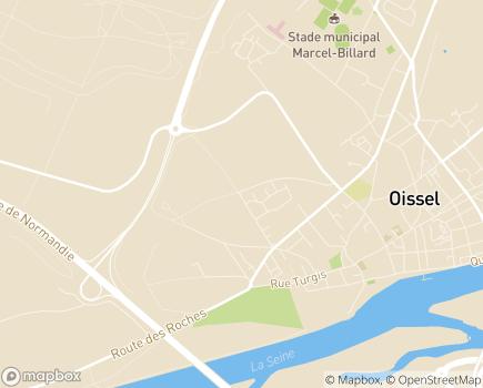Localisation Maison de Retraite Le Quesnot (Fondation Lamauve) - 76350 - Oissel