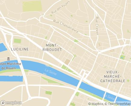 Localisation ESAT Le Pré de la Bataille - 76000 - Rouen