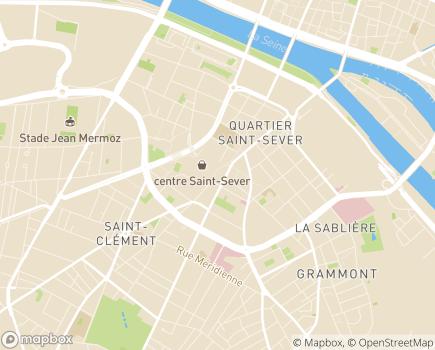 Localisation Korian Les Cent Clochers - 76000 - Rouen