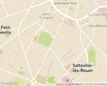 Localisation Korian Le Jardin - 76000 - Rouen
