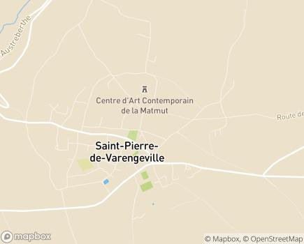 Localisation Centre Communal d'Action Sociale - 76480 - Saint-Pierre-de-Varengeville