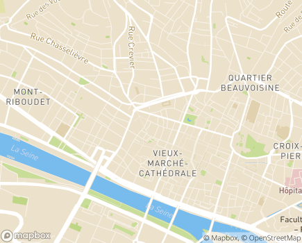 Localisation EHPAD Résidence Tiers Temps - 76000 - Rouen