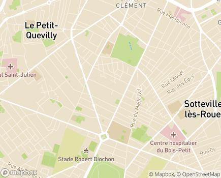 Localisation Foyer d'Accueil Médicalisé La Bastide - 76140 - Le Petit-Quevilly