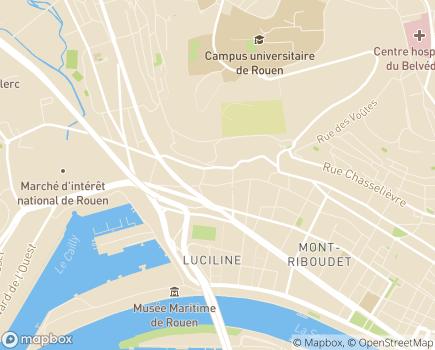 Localisation Service d'Accompagnement à la Vie Sociale - 76000 - Rouen
