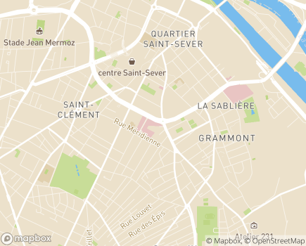 Localisation Clinique de l'Europe - 76100 - Rouen