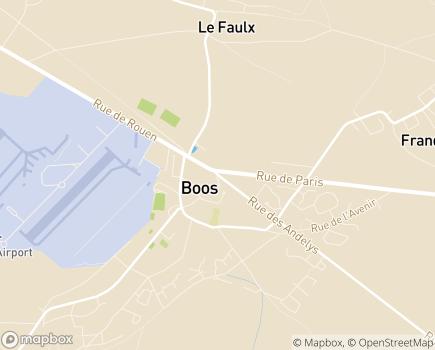 Localisation CLIC du Plateau Est de Rouen - 76520 - Boos