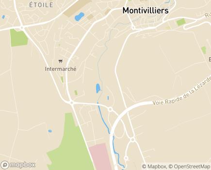 Localisation Domitys La Poudre de Lin - Résidence avec Services - 76290 - Montivilliers