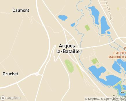 Localisation Colisée - Résidence de la Varenne - 76880 - Arques-la-Bataille