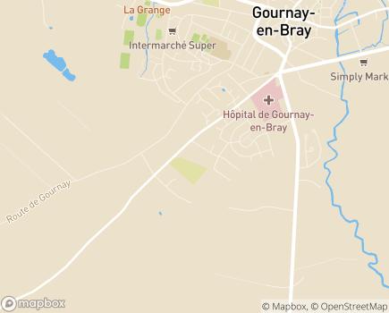 Localisation Le Cercle des Aînés Gournay-en-Bray - 76220 - Gournay-en-Bray