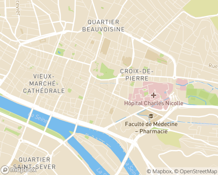 Localisation Foyer-Logement Le Ruissel - 76000 - Rouen