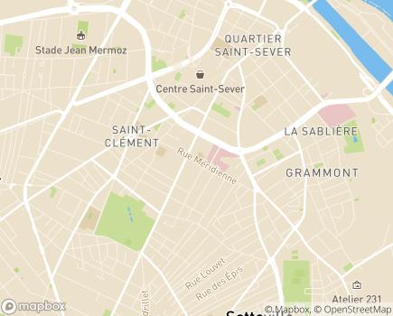 Localisation EHPAD Résidence Méridienne - 76100 - Rouen