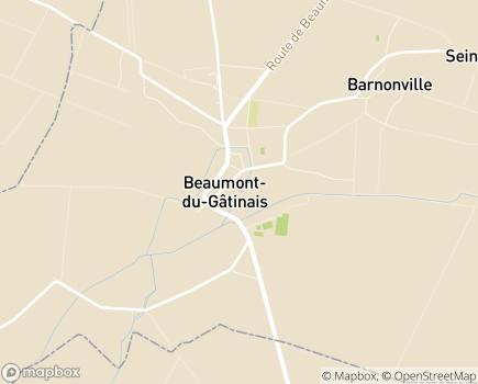 Localisation EHPAD Les Jardins de Chagot - 77890 - Beaumont-du-Gâtinais