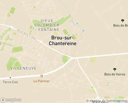 Localisation Hôpital Privé de Marne Chantereine (Ramsay - Générale de Santé) - 77177 - Brou-sur-Chantereine