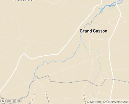 Localisation Résidence Le Domaine de Jallemain - 77570 - Château-Landon