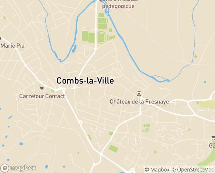 Localisation Foyer d'Accueil Médicalisé et Accueil de Jour Médicalisé Résidence de Sénart (APF) - 77389 - Combs-la-Ville