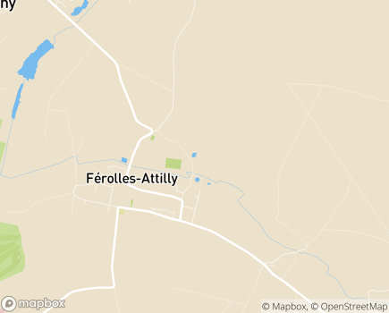 Localisation Hôpital Forcilles, Hôpital Privé ESPIC - 77150 - Férolles-Attilly