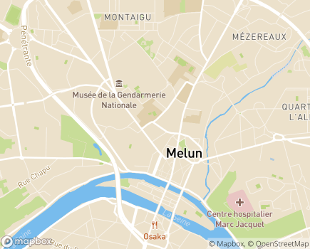 Localisation DGAS - Direction Générale Adjointe de la Solidarité - 77012 - Melun