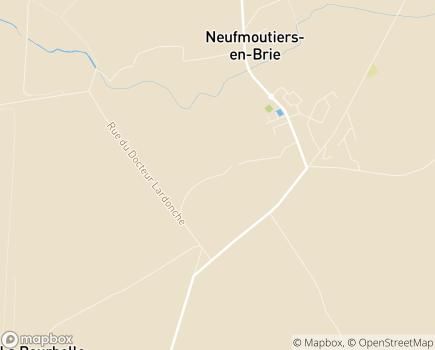 Localisation Clinique FSEF Neufmoutiers en Brie - 77610 - Neufmoutiers-en-Brie