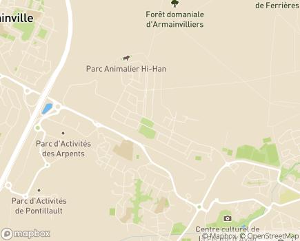 Localisation MAS André Berge - 77680 - Roissy-en-Brie