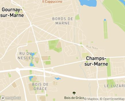 Localisation CESAP MAS La Clé des Champs - 77420 - Champs-sur-Marne