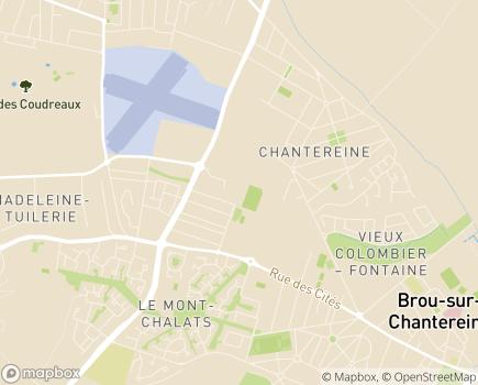 Localisation SSIAD Service de Soins Infirmiers à Domicile - 77500 - Chelles