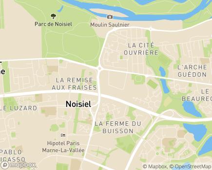 Localisation Vitassistance, Agence d'aide à la vie quotidienne - 77186 - Noisiel