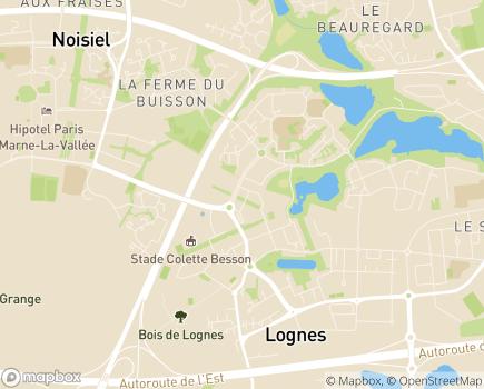 Localisation Unité Mobile d'Intervention - EST - 77185 - Lognes