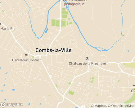 Localisation Résidence Idalion - FAM et Résidence pour personnes vieillissantes - 77380 - Combs-la-Ville