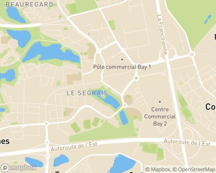 Localisation Remora 77 Service d'accompagnement à la vie sociale - 77200 - Torcy