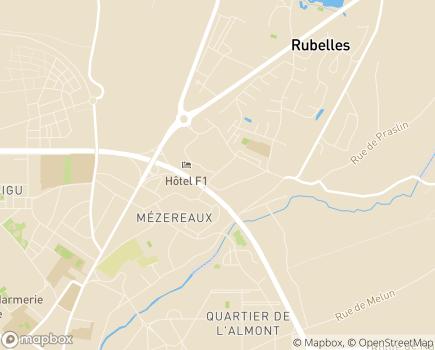 Localisation AFAD - Ile de France - 77000 - Melun