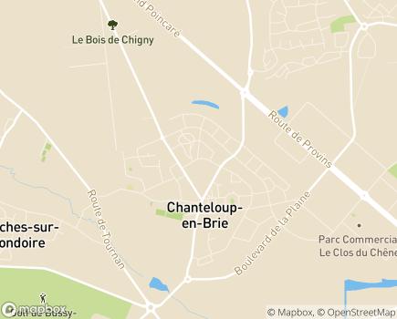 Localisation Résidence avec Services Les Girandières - 77600 - Chanteloup-en-Brie