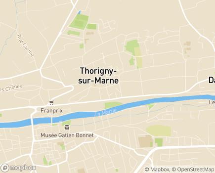Localisation Free Dom/ Senior Compagnie - 77400 - Thorigny-sur-Marne