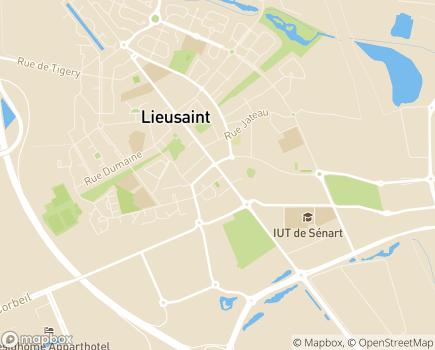Localisation Relais Lieusaint - Groupe VYV - 77127 - Lieusaint