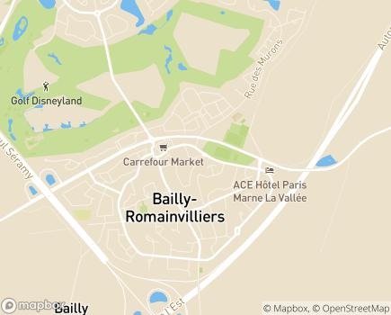 Localisation Résidence avec Services Les Girandières - 77700 - Bailly-Romainvilliers