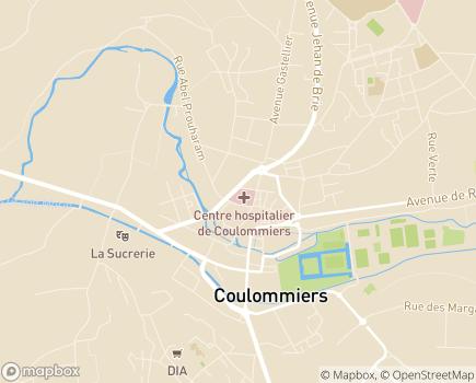 Localisation Hôpital LRS Coulommiers - La Renaissance Sanitaire - 77120 - Coulommiers