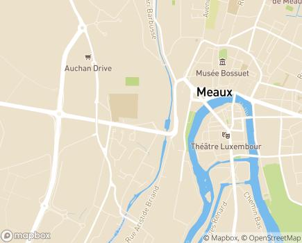 Localisation Hôpital LRS Meaux - La Renaissance Sanitaire - 77100 - Meaux