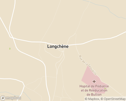 Localisation Hôpital de Bullion Pédiatrie et Rééducation - 78830 - Bullion