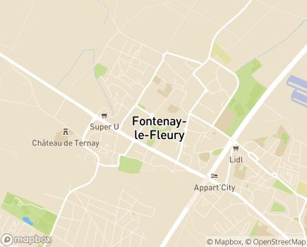 Localisation Centre Communal d'Action Sociale - 78330 - Fontenay-le-Fleury