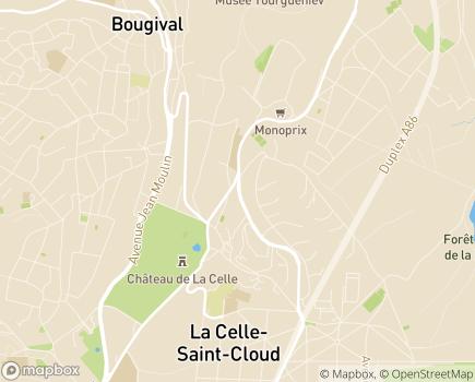 Localisation Villa d'Épidaure LNA Santé - 78170 - La Celle-Saint-Cloud