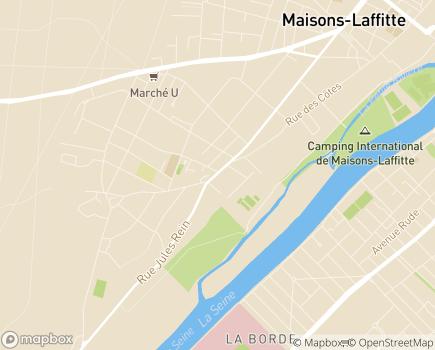 Localisation EHPAD Champsfleur - 78600 - Le Mesnil-le-Roi