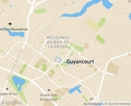 Localisation Korian - Clinique Le Grand Parc - 78280 - Guyancourt